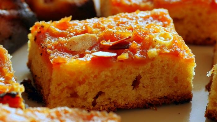 Torta de calabaza y nueces