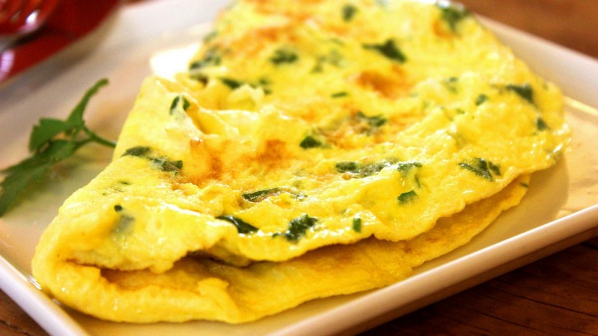 Receta Tortilla light con claras de huevo
