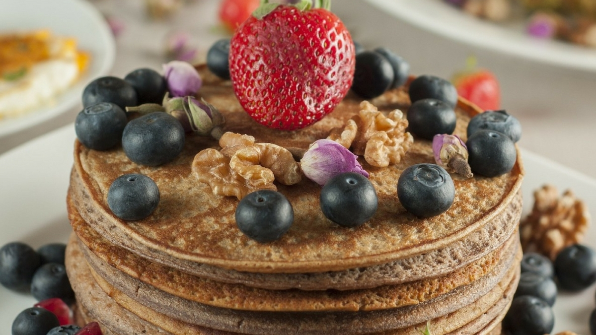 Receta de Pancakes de avena para bajar de peso