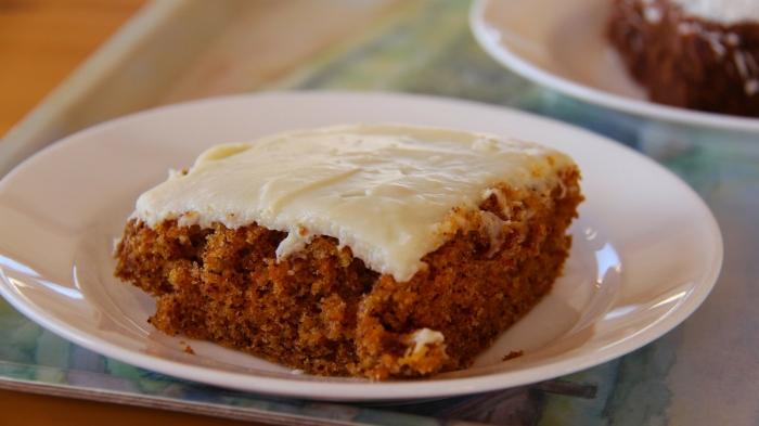 Torta de zanahoria y jengibre