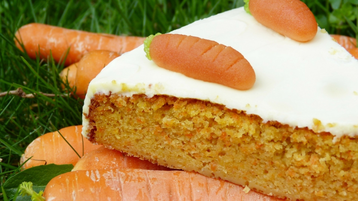 Receta de Torta de zanahoria y jengibre