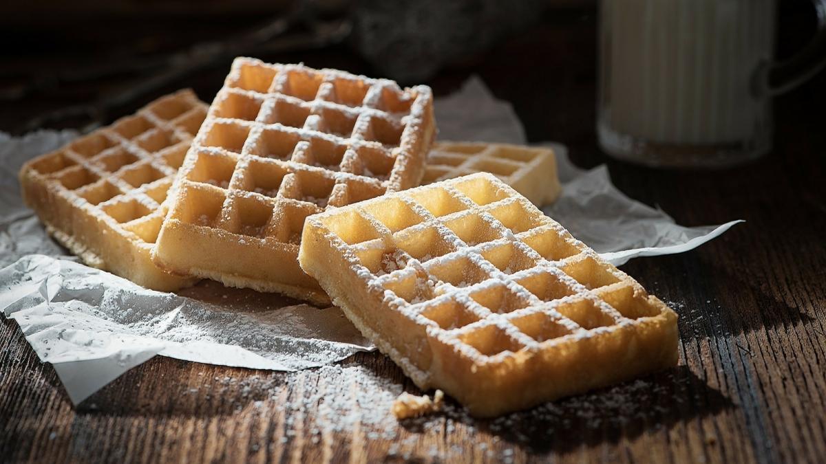 Tradicional receta de Waffles