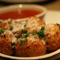 Tradicional receta italiana de Arancini