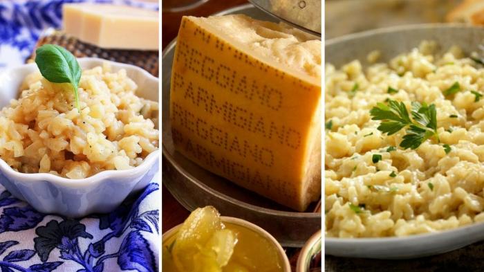 Risotto sencillo con queso