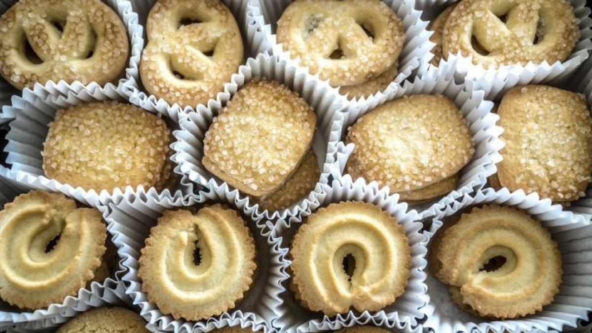 ¡Delicia de receta! Sabrosas Galletas de mantequilla
