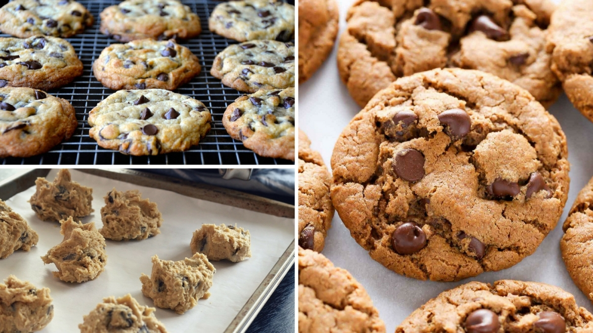 Divinas galletas de mantequilla con chispas de chocolate ¡No te pierdas esta receta!