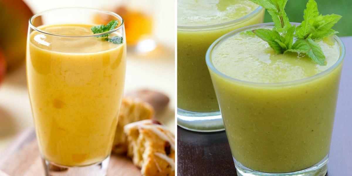 Jugo de mango verde y mango maduro: delicioso e increíble para devolverte la fuerza