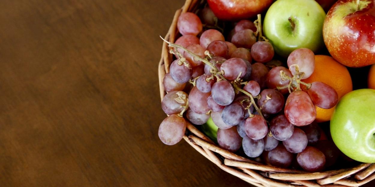 Uva y manzanas
